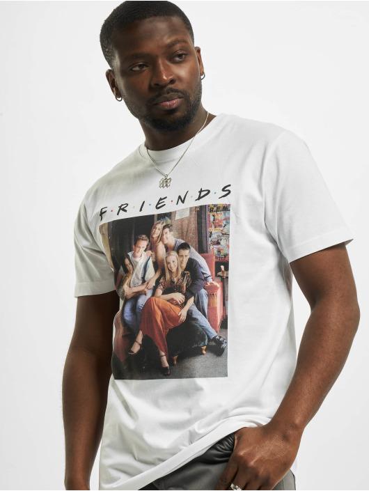 Merchcode T-Shirt Friends Group Photo blanc
