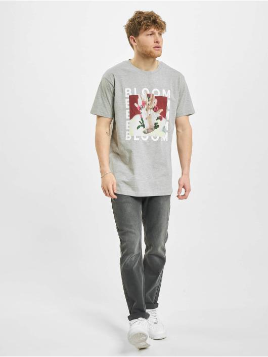 Merchcode T-Shirt MGK Bloom grey