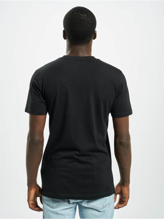 Merchcode T-shirt Hustler Smoke nero