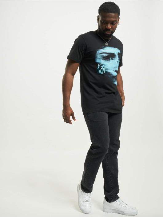 Merchcode T-Shirt Korn Face noir