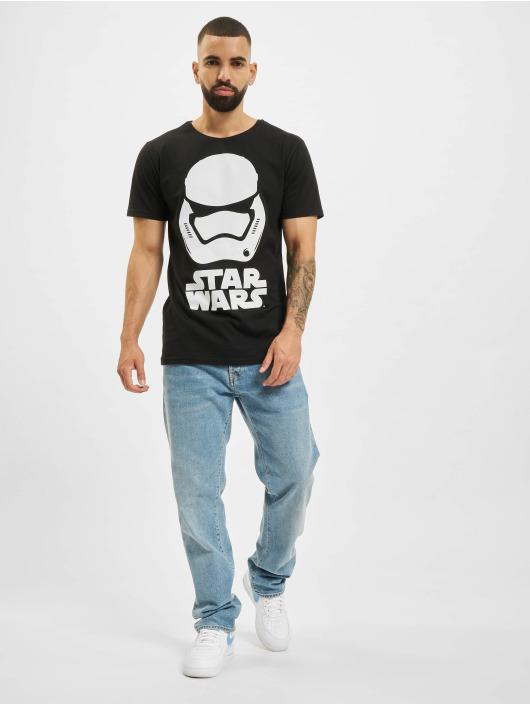 Merchcode T-Shirt Star Wars noir