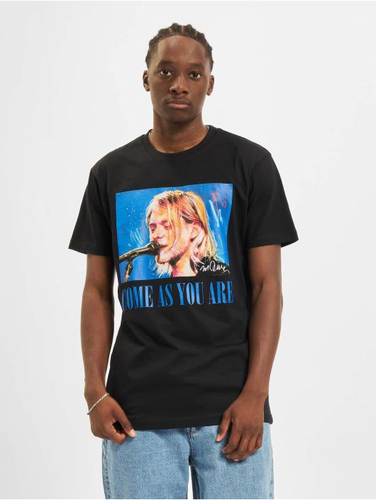 Merchcode Noir 587673 shirt Kurt Homme T ZPkXiOu