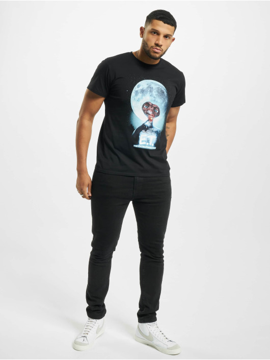 Merchcode T-Shirt E.t. Face noir