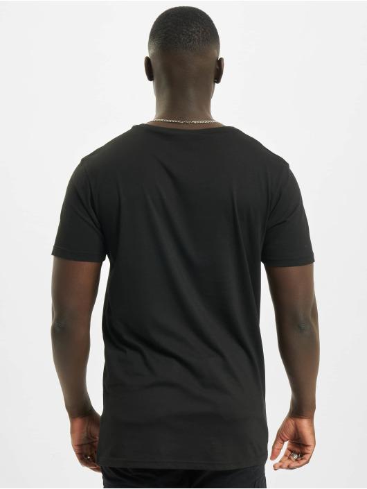 Merchcode T-Shirt Marvel Logo Character noir