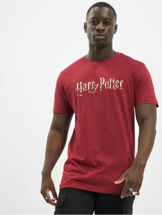 Merchcode T-Shirt Harry Potter Logo rot