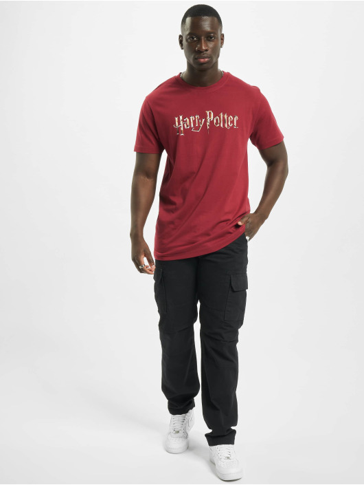 Merchcode T-Shirt Harry Potter Logo rot