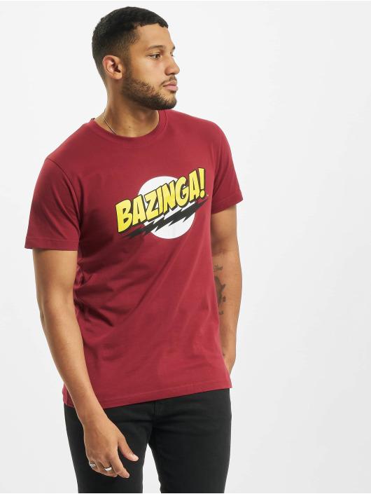Merchcode T-Shirt Big Bang Theory Bazinga rouge