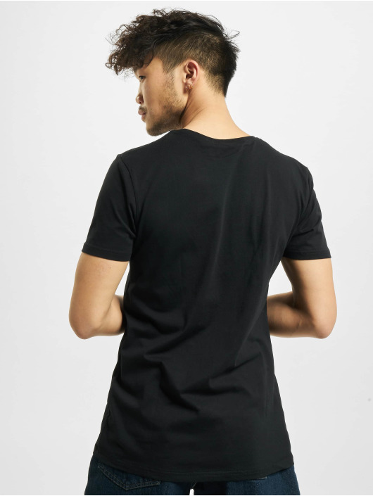 Merchcode T-Shirt Desiigner Panda schwarz
