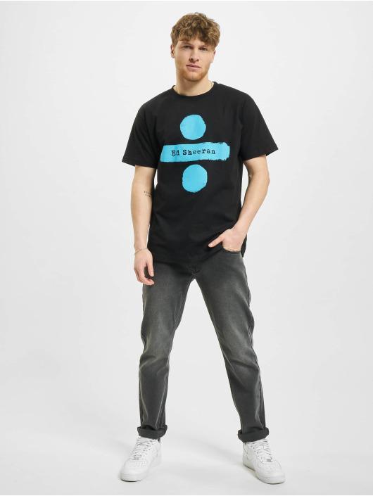 Merchcode T-Shirt Ed Divide Logo schwarz