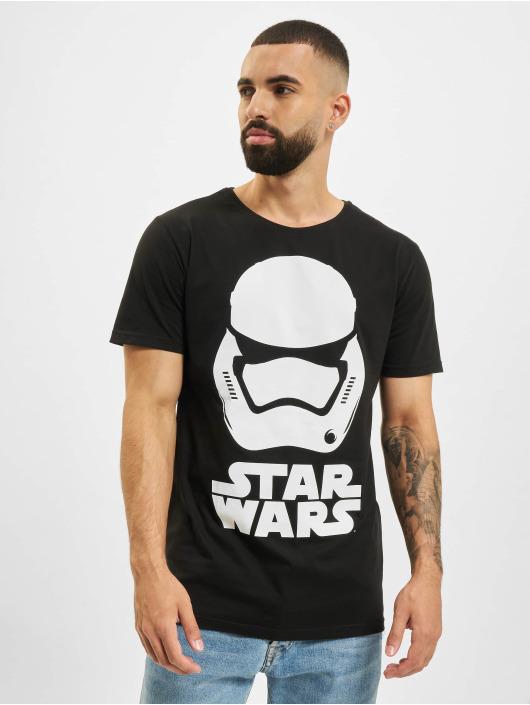 Merchcode T-Shirt Star Wars schwarz