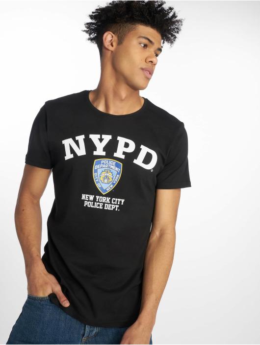 Merchcode T-Shirt Nypd Logo schwarz