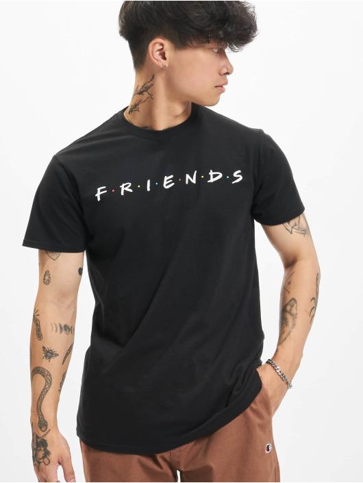 Merchcode T-Shirt Friends Logo schwarz