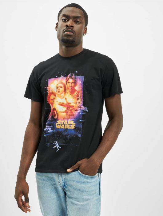 Merchcode T-Shirt Star Wars Poster Episode IV schwarz