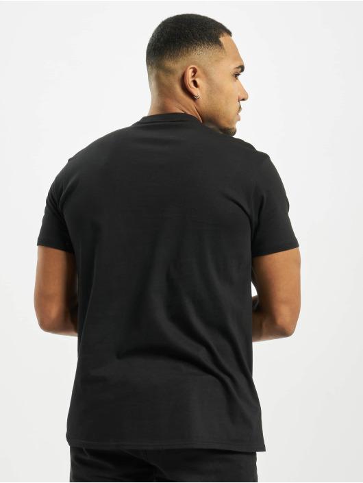 Merchcode T-Shirt Rick And Morty Logo schwarz