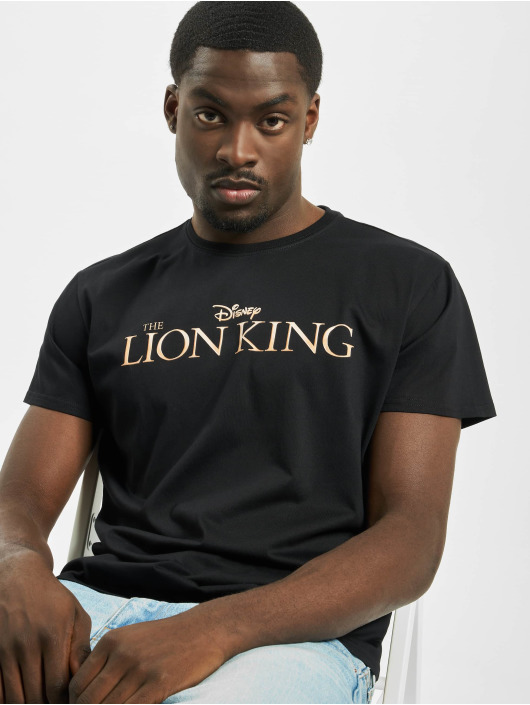 Merchcode T-Shirt Lion King Logo schwarz