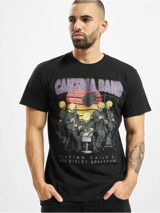 Merchcode T-Shirt Star Wars Cantina Band schwarz
