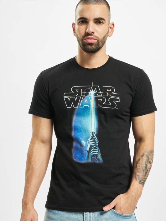Merchcode T-Shirt Star Wars Laser schwarz