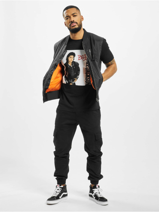 Merchcode T-Shirt Michael Jackson Bad schwarz