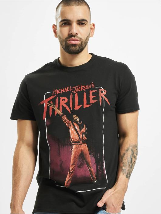 Merchcode T-Shirt Michael Jackson Thriller Video schwarz