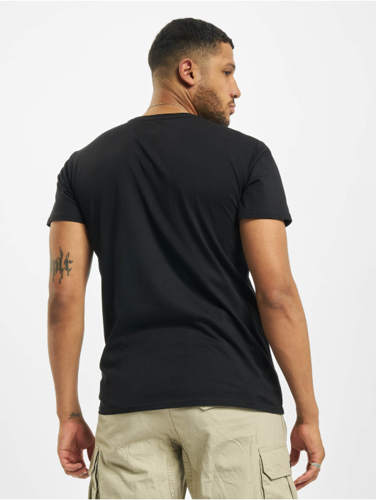 Merchcode T-Shirt Marvel Logo schwarz