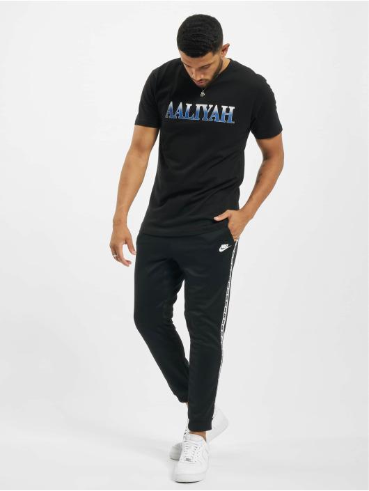 Merchcode T-Shirt Aaliyah Snake schwarz