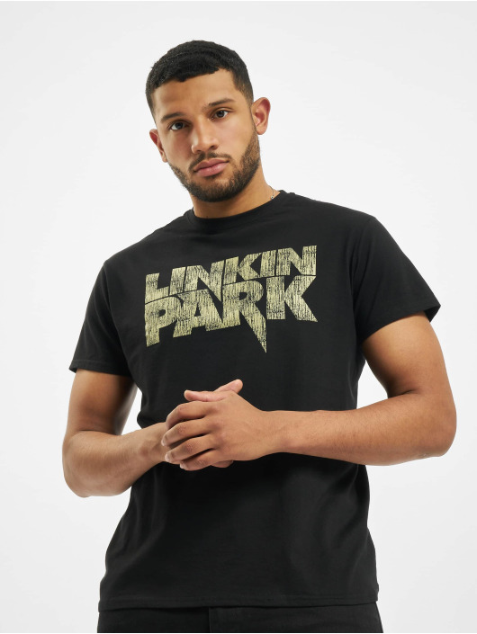 Merchcode T-Shirt Linkin Park Distressed Logo schwarz