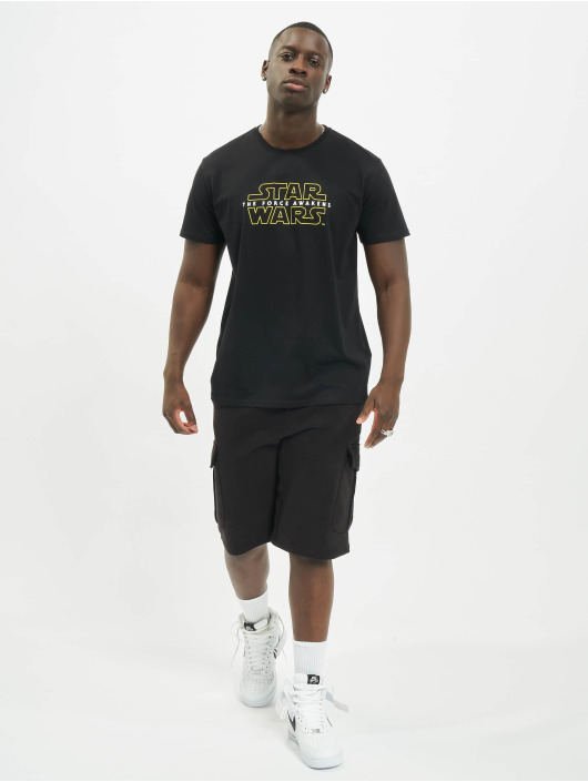 Merchcode T-Shirt Star Wars Crawl schwarz