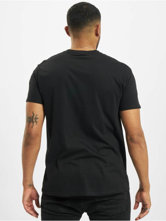 Merchcode T-Shirt Mortal Kombat Logo schwarz