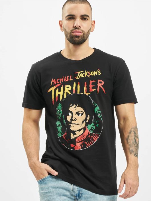 Merchcode T-shirt Michael Jackson Thriller Portrait svart