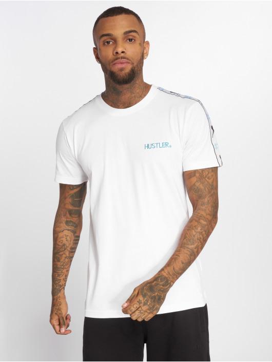 Merchcode T-Shirt Hustler Sidetape weiß