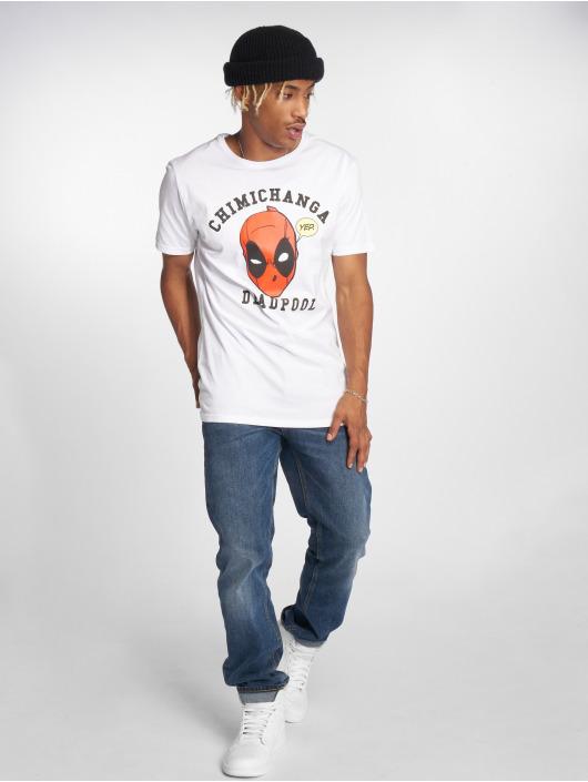 Merchcode T-Shirt Deadpool Chimichanga weiß