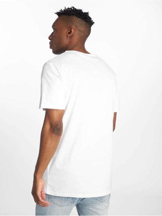 Merchcode T-Shirt Iron Man Cover weiß