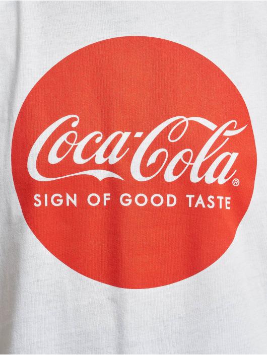 Merchcode T-Shirt Coca Cola Round Logo white