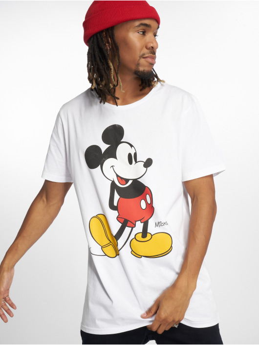 Merchcode T-Shirt Mickey Mouse white