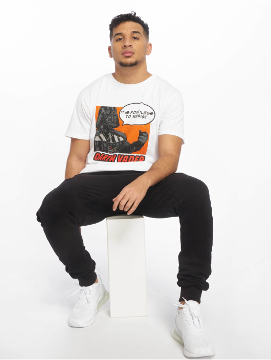 Merchcode T-Shirt Star Wars Pointless To Resist white