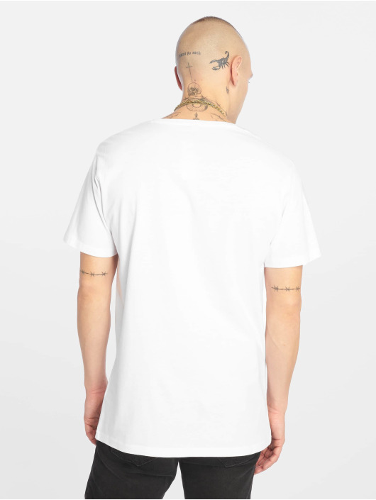 Merchcode T-Shirt AMK Luke Tee white