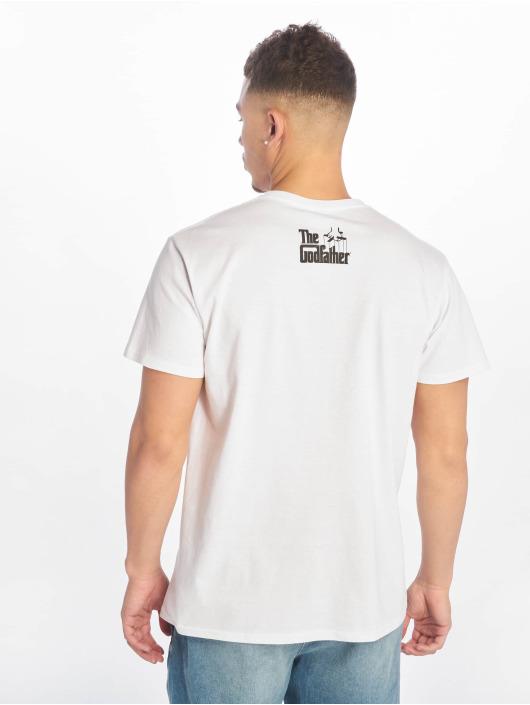 Merchcode T-Shirt Godfather Painted Portrait white