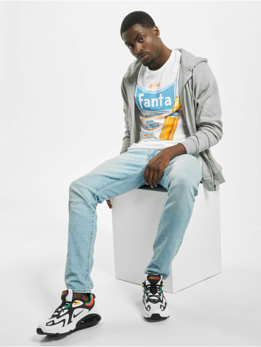 Merchcode t-shirt Fanta Refreshing wit