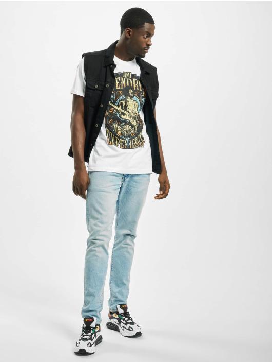 Merchcode t-shirt Jimi Hendrix Experience wit