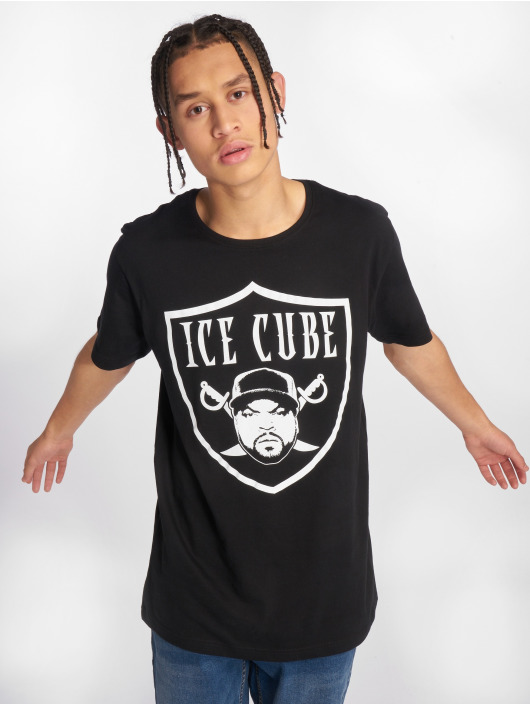 Merchcode t-shirt Ice Cube Raiders zwart