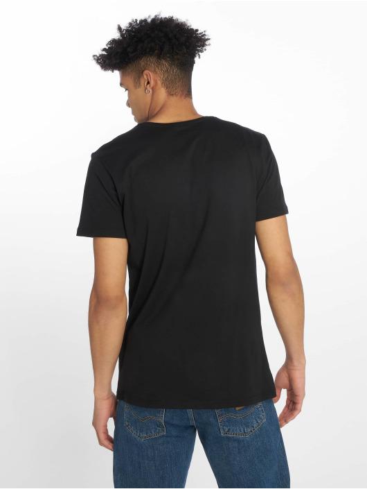 Merchcode t-shirt Nypd Logo zwart