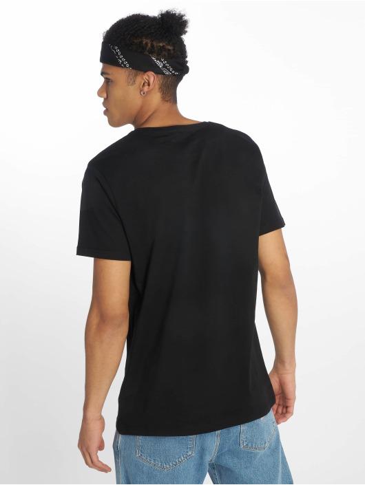 Merchcode t-shirt Rolling Stones Tongue zwart