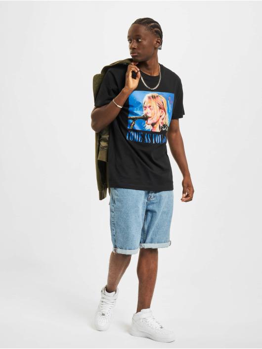 Merchcode t-shirt Kurt zwart