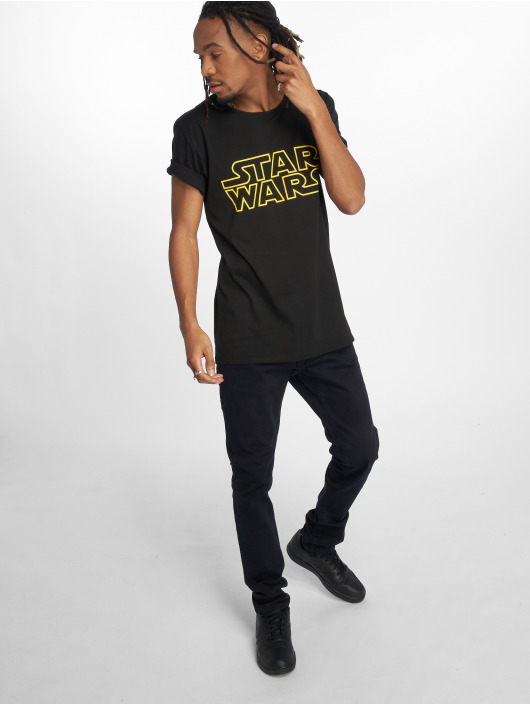 Merchcode t-shirt Star Wars zwart