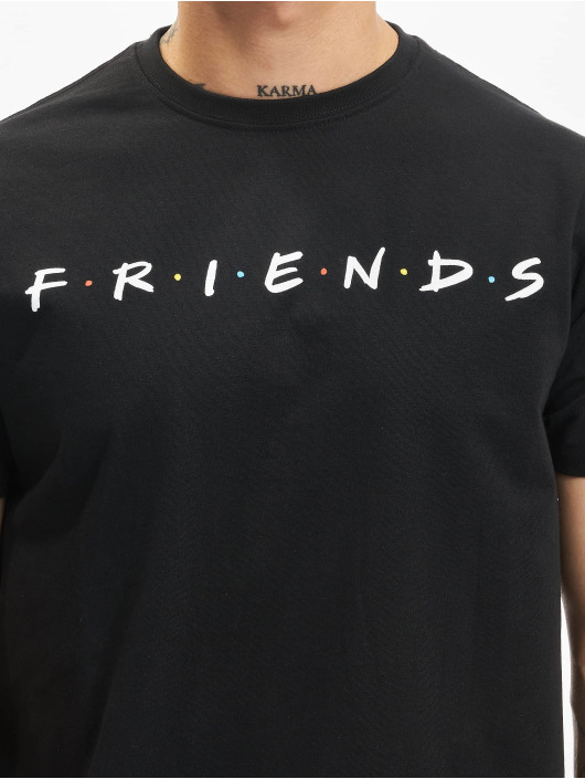 Merchcode t-shirt Friends Logo zwart