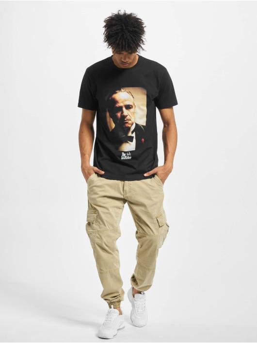 Merchcode t-shirt Godfather Portrait zwart