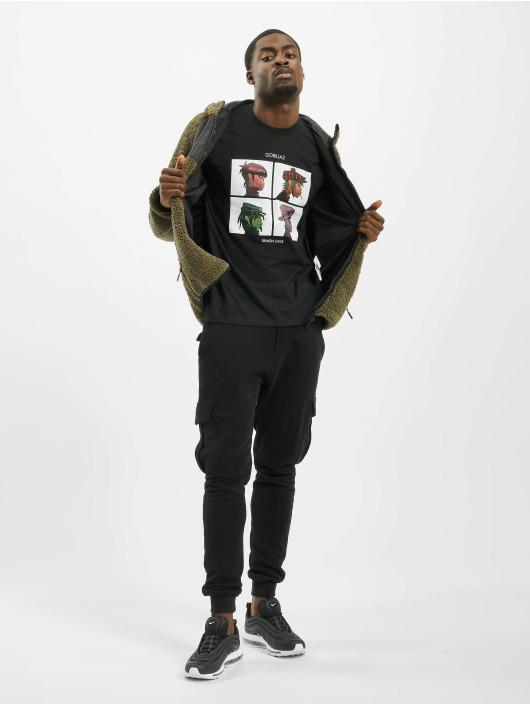 Merchcode t-shirt Gorillaz Demon Days zwart