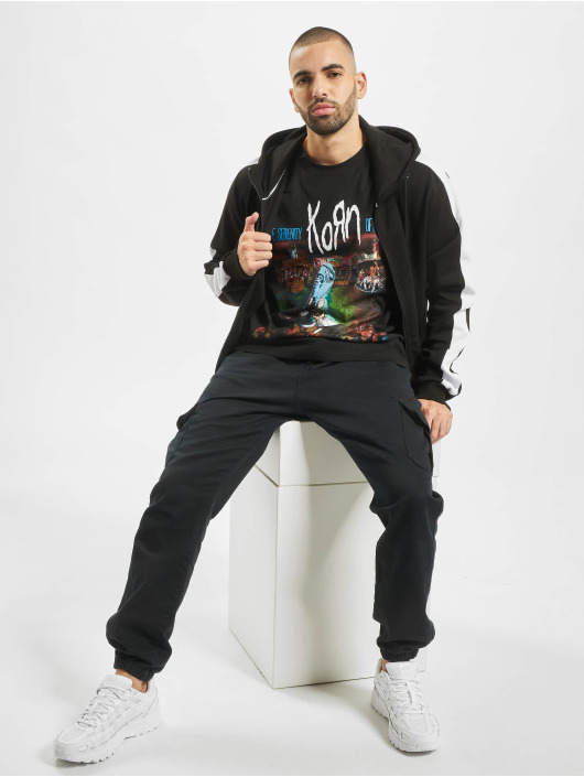 Merchcode t-shirt Korn Circus zwart