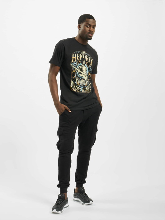Merchcode t-shirt Jimi Hendrix Experience zwart