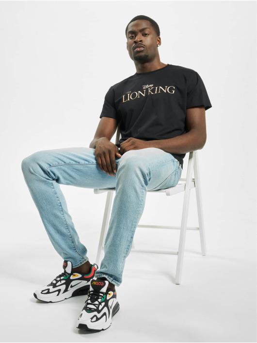 Merchcode t-shirt Lion King Logo zwart